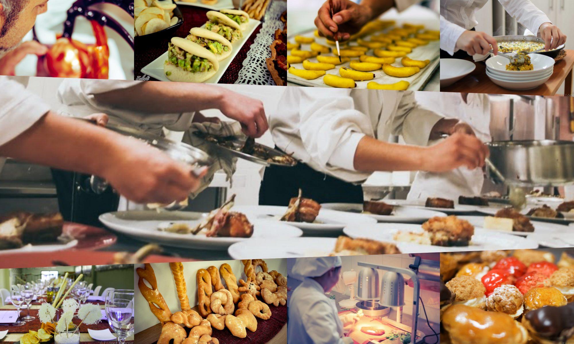 Estudiar cocina y gastronomía.